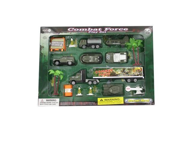 Children Kids Playschool Indoor Game Craft Accessories Combat Force Play Set 4 Pack