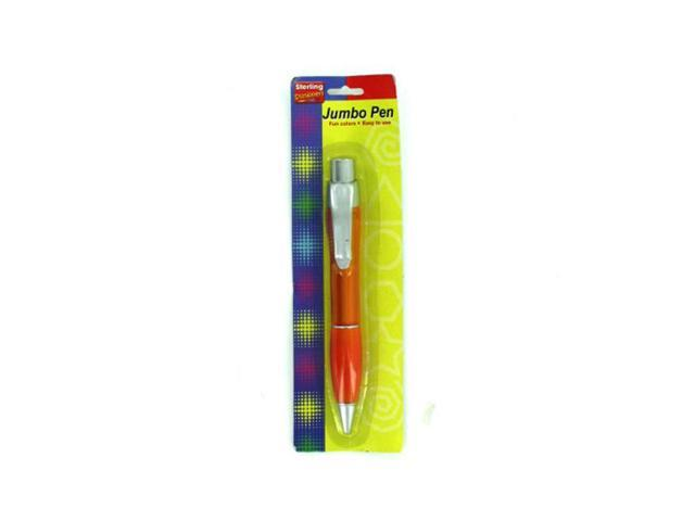 Home Indoor School Office Accessories Supplies Jumbo Pen With Pocket Clip 24 Pack