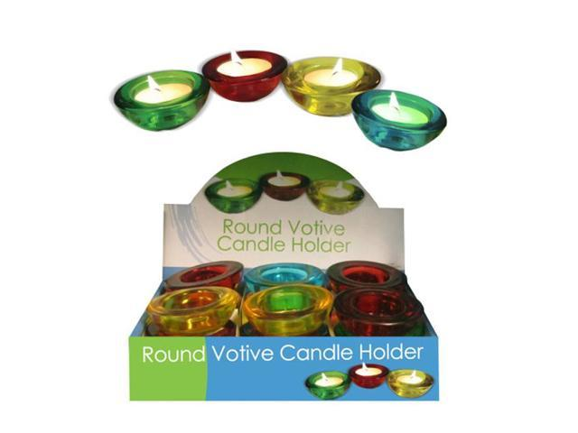 Home Indoor Table Top Decorative Choice Of Glass Votive Candle Holder 12 Pack