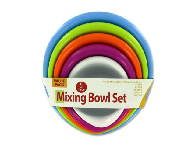 Home Indoor Kitchen Party Decorative Serving Multicolor Mixing Bowl Set Pack of 1