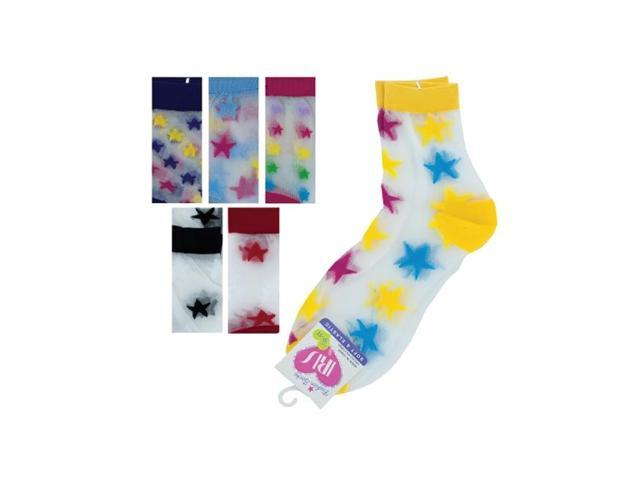 Bulk Buys Kids Multi Color Wool Hi Cut Knee Argyle 9-11 Flat Crew Fashion Dress Socks Pack Of 36