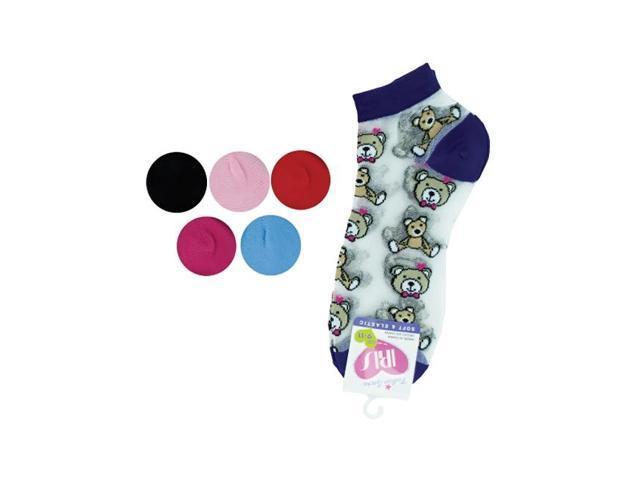 Bulk Buys Kids Multi Color Wool Low Cut Knee Argyle 9-11 Flat Crew Fashion Dress Socks Pack Of 36