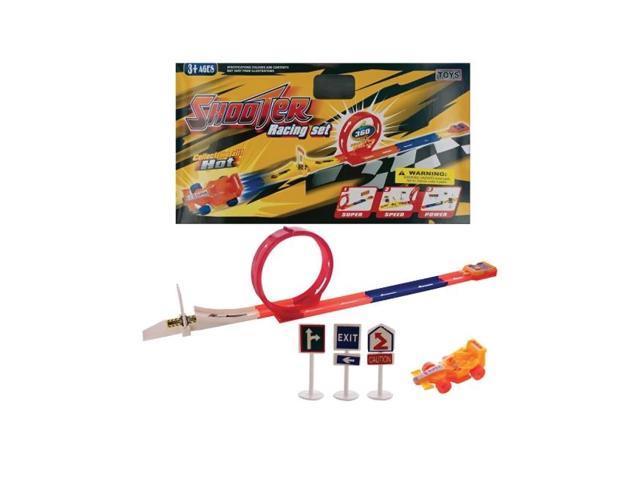 Bulk Buys Kids Children Adult Racing Launch  Speeding Racer Set Pack Of 4