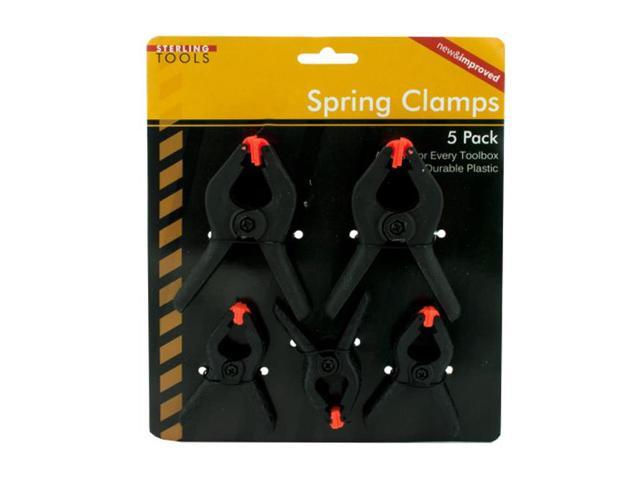 Home Indoor Craft Educational Learning Plastic Spring Clamps Pack of 24