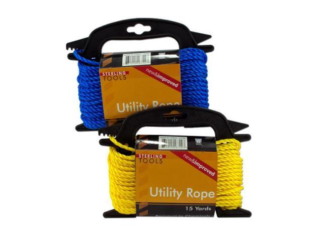 Home Indoor Outdoor Flexible Hardware Utility 15 Yards Rope Pack of 8