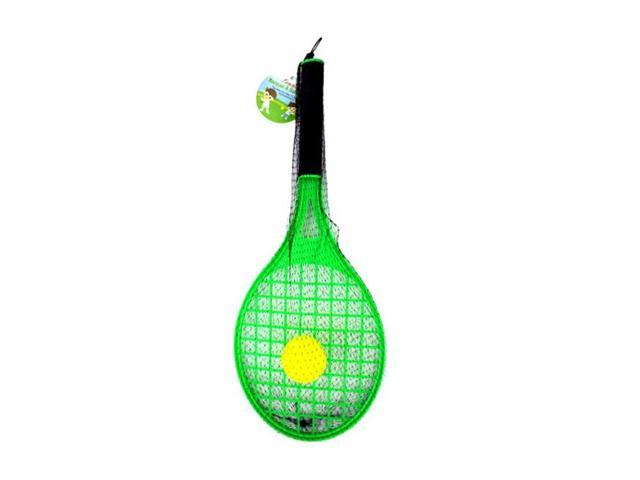 Home Indoor Outdoor Kids Sports Play Toy Tennis Racket With Foam Ball Pack of 12