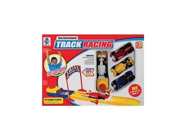 Bulk Buys Kids Children Adults Playing Multi color Speed Launch Racing Cars Pack Of 4
