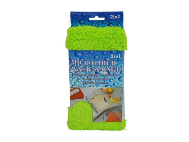 2-in-1 microfiber sponge and duster 8 Pack