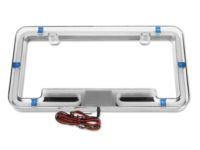 Plasmaglow Neon License Plate Frame - Blue