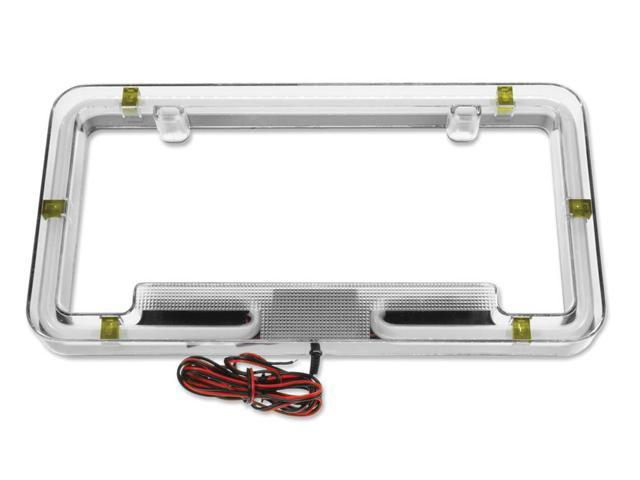 Plasmaglow Neon License Plate Frame - Yellow