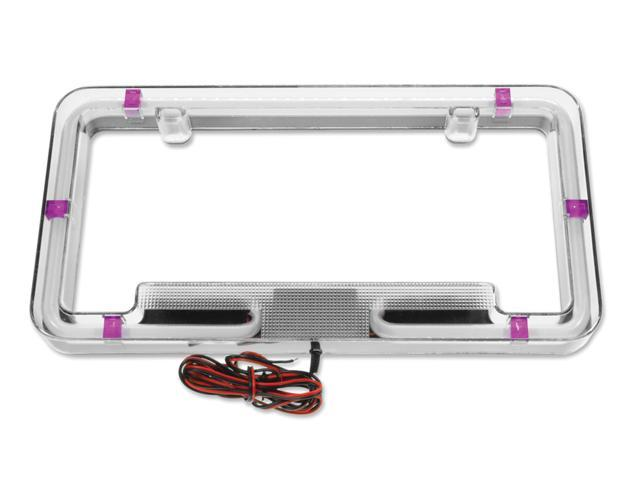 Plasmaglow Neon License Plate Frame - Pink