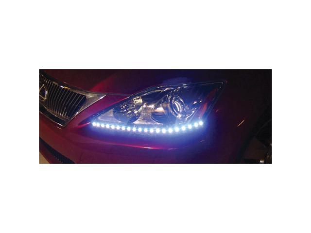 PlasmaGlow 10875 Lightning Eyes LED Headlight Kit - WHITE