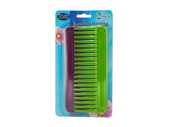 Salon Collections Hair Styling Smoothing Jumbo Comb Set 24 Pack