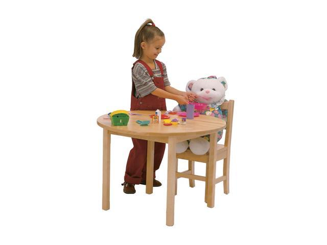 Steffywood Home Classroom Preschool Kids Maple Writing Art Activity Play Table 28
