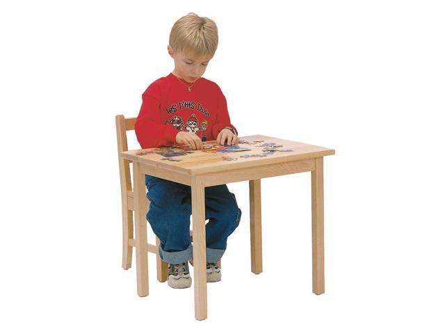 Steffywood Home Classroom Preschool Kids Children Maple Writing Activity Play Table 24