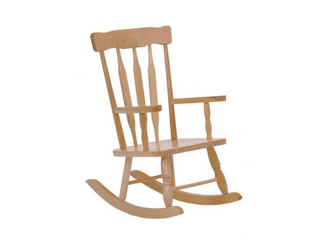 Steffywood Kids Toddler Colonial Wooden Rocking Child's Rocker Chair With Arms