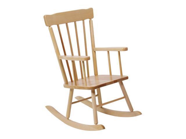 Steffywood School Age Kids Children Classroom Maple Rocking Rocker Chair