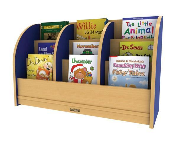ECR4Kids Indoor Kids Colorful Essentials Toddler Single Sided Blue Book Stand