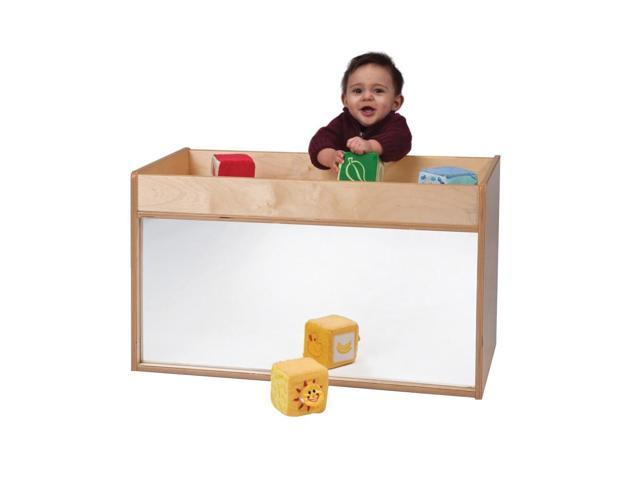 Whitney Brothers I-See-Me Toddler Wooden Play Area Mirrored Cabinet Storage Unit