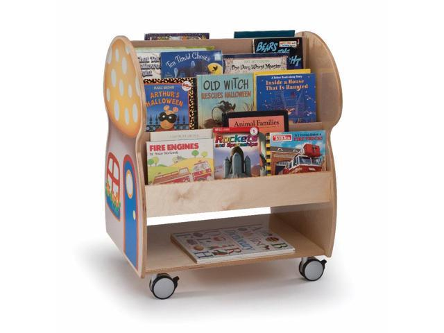 Whitney Brothers Home Office Kids Mushroom House Book Display Organizer Stand