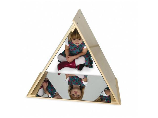 Whitney Brothers Home School Kids Pretend Play Room Triangle Mirror Tent
