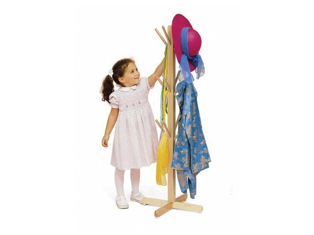 Whitney Brothers Kids Children Pretend Play Hat Costume Hang Dress Up Tree Stand With Pegs