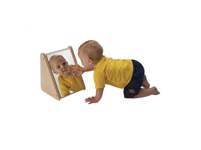 Whitney Brothers Baby Infant In-Sight Mirror With Stand