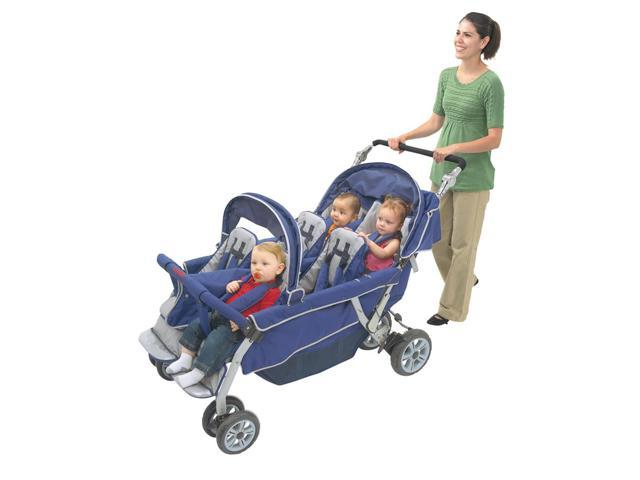 Angeles SureStop Folding Commercial Bye-Bye Baby Best Stroller 6-Passenger