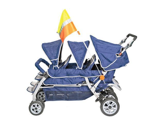 Angeles Kids Baby Stroller Safety Flag Newegg Com