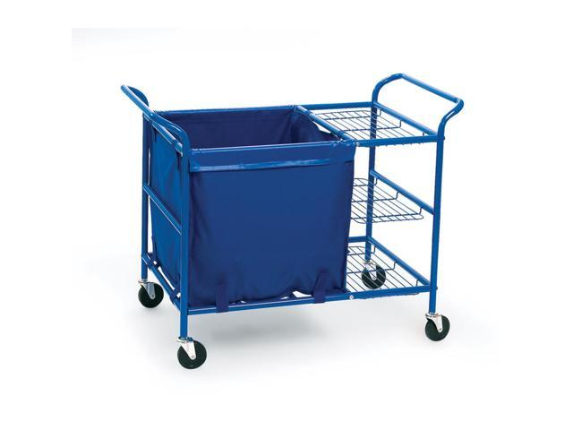 Angeles Ball Cart Sturdy Steel Nylon Storage Bin
