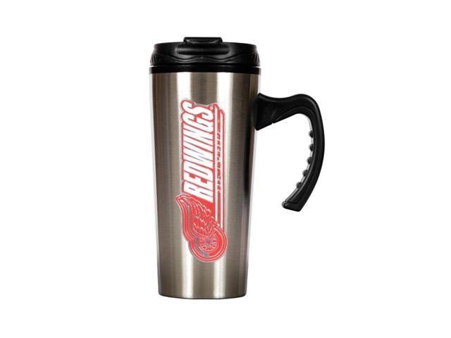 GAP NHL Detroit Redwings 16oz Slim Stainless Steel Travel Mug Silver