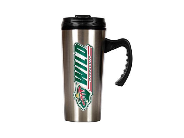 GAP NHL Minnesota Wild 16oz Slim Stainless Steel Travel Mug Silver