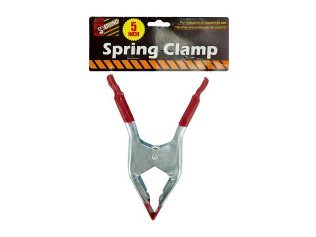 Sterling Home Spring Metal clamp With Vinyl Coated Handle and Tip Pack of 25