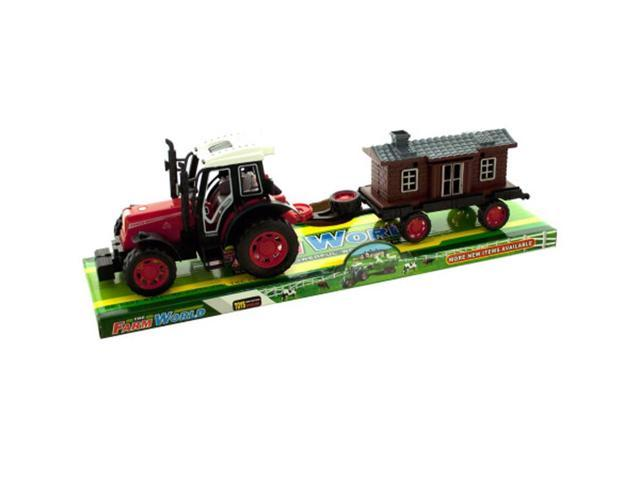 Bulk Buys Home Indoor Kids Playing Toy Vehicles Friction Farm Truck 2Asst Pack Of 4