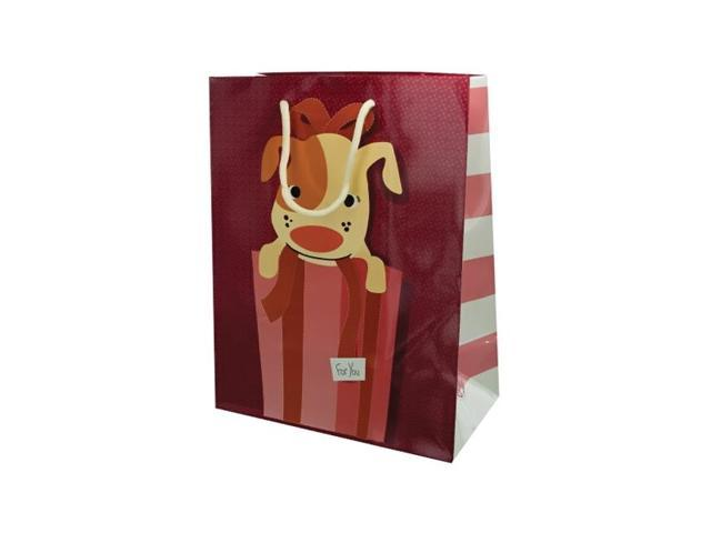 Bulk Buys Christmas Wedding Birthday Gift Wrapping Accessories Puppy Gift Bag Pack Of 20