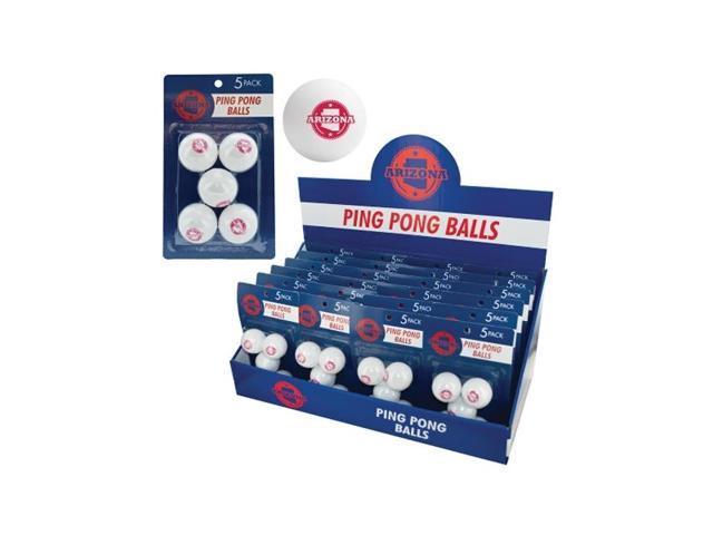 Bulk Buys Indoor Games Table Tennis Sports  Arizona Ping Pong Balls Countertop Display Case Of 24