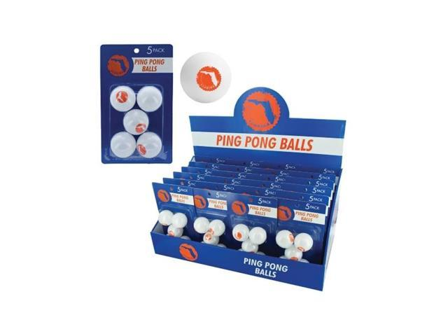 Bulk Buys Indoor Games Table Tennis Sports Florida Ping Pong Balls Countertop Display Case Of 24