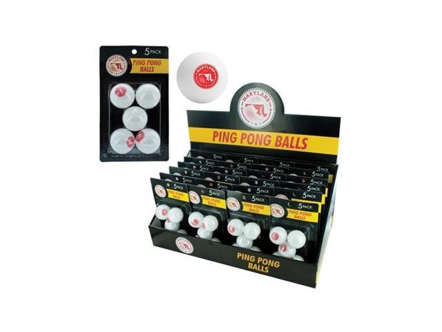 Bulk Buys Indoor Games Table Tennis Sports Maryland Ping Pong Ball Countertop Display Case Of 24
