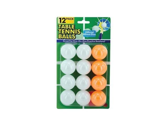 Bulk Buys Outdoor Sports Table Tennis Ping Pong Balls Pack of 8