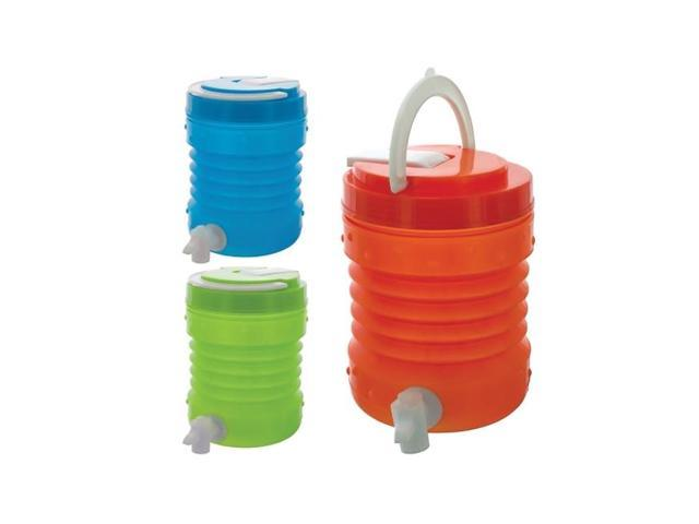 Bulk Buys 1.5 Liter Plastic Collapsible Travel Drink Container Pack Of 6