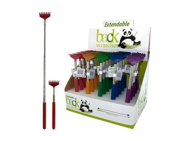 Bulk Buys Metal Extendable Back Scratcher Store Counter Top Display Case Of 25