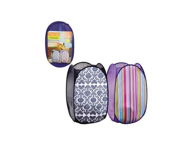 Bulk Buys Indoor Home Nylon Foldable Pop Up Laundry Cloth Storage Bag Pack Of 4