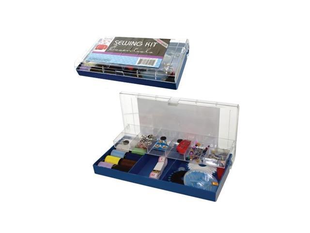 Bulk Buys Home Travel Plastic Mini Boxed Sewing Kit Set Accessories Pack Of 8