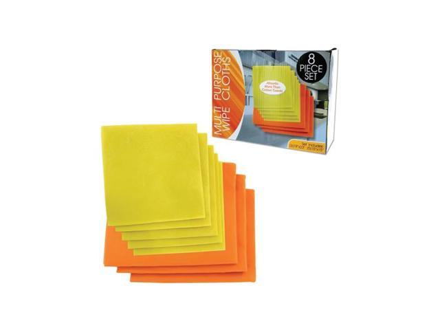 Bulk Buys Home Shops Multi-Purpose Dust Dirt Stain Cleaning Wipe Cloth Pack Of 6