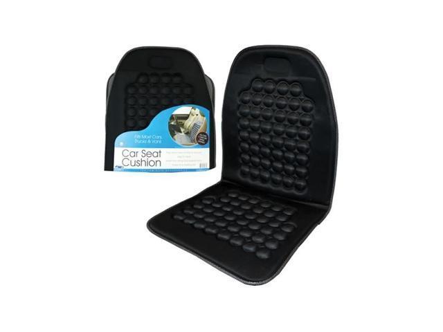 Bulk Buys Automotive Nylon Car Seat Back Support Cushion Black Pack Of 1