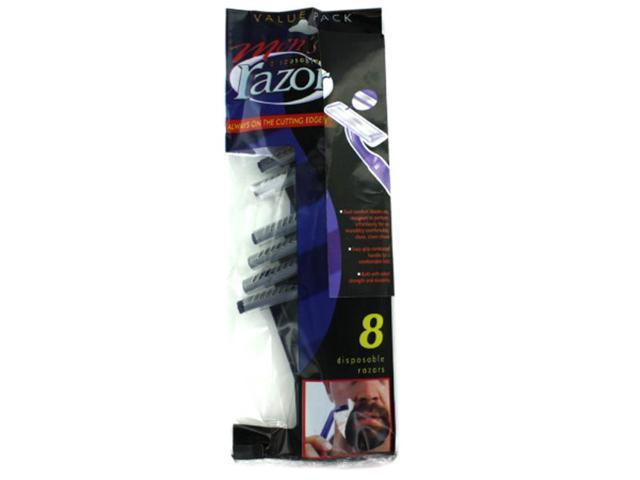 Bulk Buys Mens Disposable Dual Comfort Razors Pack of 25