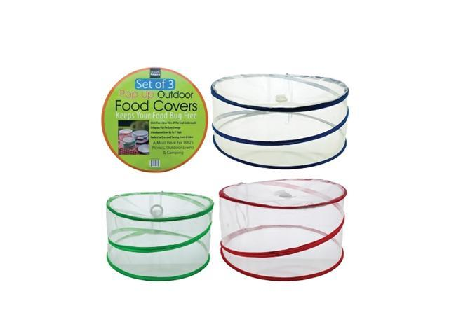 Bulk Buys Outdoor Picnic Camping Travel Mesh Food Protector Covers Pack Of 1