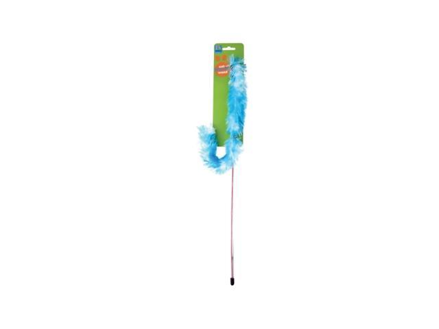 Tinys Pet Supplies Cat Kitten Fun Play Teaser Feather Wand Toy Pack Of 24