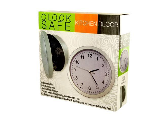 Bulk Buys Home Office Indoor Decorative Kitchen Wall Clock Safe Pack Of 1