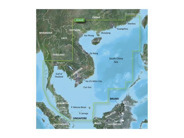Garmin Bluechart G2 HXAE004R Hong Kong/South China Sea microSD Card Maps